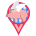 Flying Pig Bacon Icon