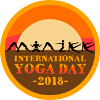 Yoga Day Badge