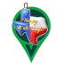 State Shaped Ornament Icon