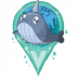 Baby Narwhal Icon