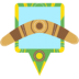 Boomerang Root Runner Icon